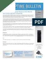 2012 Q2 VNX Uptime Bulletin