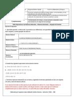 Taller 3  Fortalcimiento Matematico Operaciones con numeros Naturales - Despeje de ecuaciones.docx