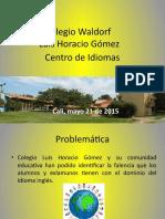 Proyecto centro de Idiomas DAS