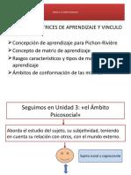 UNIDAD 3_CLASE 2_MATRICES DE APRENDIZAJE Y VINCULO-1