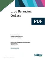 Load Balancing OnBase
