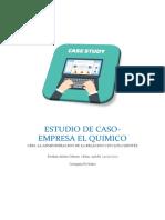 ESTUDIO DE CASO CRM - LA EMPRESA EL QUIMICO