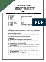 SILABO DE MAESTRIA