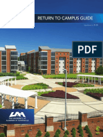 UAH return to campus guide