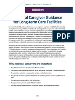 Essential Caregiver Guidance for Long-term Care Facilities