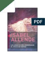 Allende Isabel - Los Amantes Del Guggenheim - El Oficio de Contar