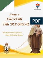 2do Dia Novena a la Virgen del Carmen