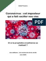 Coronavirus - Cet Imposteur Qui a Fait Vaciller Nos Vies