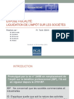 IS- Liquidation version
