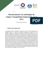 Monitorización de estrategia de Testeo-Trazabilidad-Aislamiento en la APS