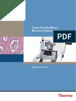Microtomo Manual Hm325