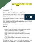 Protocolos y Escalas Para EMDR Grupal Con Niños