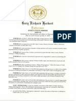 Gov. Herbert Updates  State of Emergency 07.10.2020