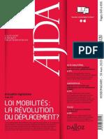 AJDA n°12_Avril 2020