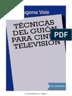 tecnicas del guion para cine y television