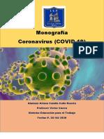 MONOGRAFÍA CORONAVIRUS COVID-19 camila [5770]