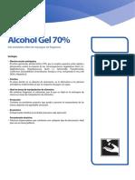 Gel de Manos con ALcohol 70% ficha