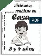 CUADERNO TAREAS 3 AÑOS