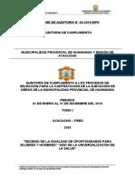 INFORME DE AUDITORIA DE CUMPLIMIENTO-  correcto- MARGARET
