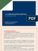 7.1. comunicación asertiva