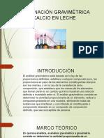 DETERMINACIÓN GRAVIMÉTRICA DE CALCIO EN LECHE 6