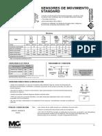 Técnico - Español - Sensores de movimiento standard