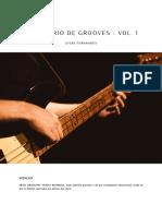 Dicionário de Grooves - Vol. 1 - Lucas Fernandes