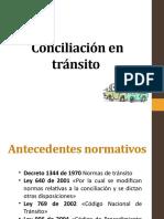 CONCILIACION EN TRANSITO