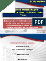 MODELO DE APRESENTAÇÃO DE TCC - ANDREZA