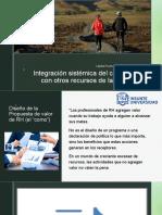 integracion de recursos humanos con otros recursos de la organizacion