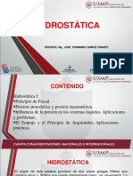 Hidrostática - Hidrodinámica - Bioelectricidad