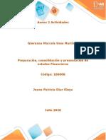 Anexo Ciclo 2 Consolidacion de  estados financieros