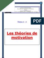 Theories de Motivation