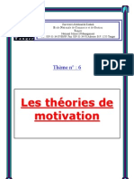 Theories de Motivation