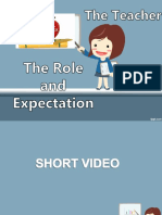 The teacher Role and expectation.ppt