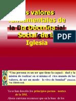 2 Los valores fundamentales de la Doctrina Social de la Iglesia