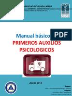 Manual Basico de Primeros Auxilios Psicologicos