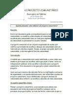 GUIA PARA LIDERES - PLANO DO PROJECTO COMUNITÁRIO