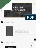 Helados Saludables de Lucía Martínez y Aitor Sánchez
