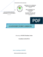le licenciement en droit du travail camerounais