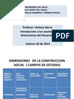 -DIMENSIONE DE LA CONSTRUCCION SOCIAL-RETOS Y CAMPOS 2303