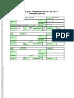 Formula Rio Para Federase en Espeleo