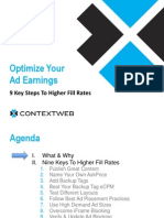 Optimize Your Ad Earnings and Fill Rate