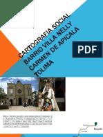CARTOGRAFIA SOCIAL BARRIO VILLA NELLY desarrollo social