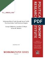 Fair Trade Regime