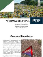 FORMAS DEL POPULISMO