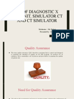 SANJU 2510 Qa of diagnostic x ray unit, simulator oct 22 Edited [Autosaved].pptx