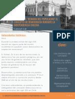 El temor al reinado del populacho_ El concepto de democracia durante la independencia chilena (1)