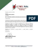 PROPUESTA ALQUILER DIGITALIZADOR SANTA GRACIAS