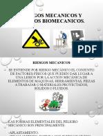 RIESGOS MECANICOS Y RIESGOS BIOMECANICOS